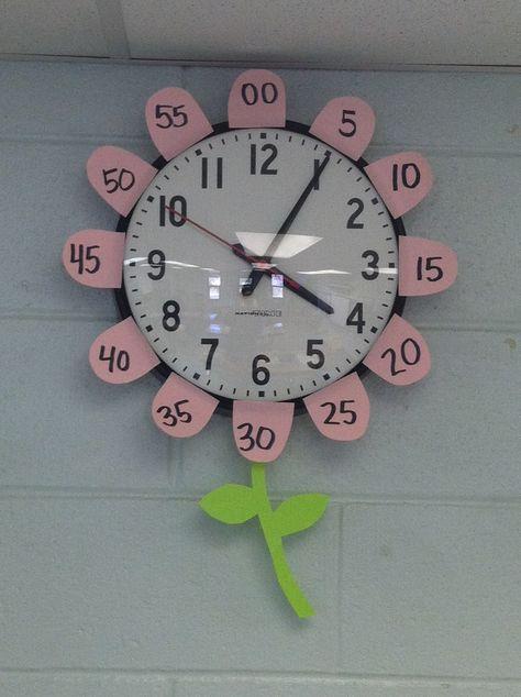 Uhr im Blumendesign                                                       …