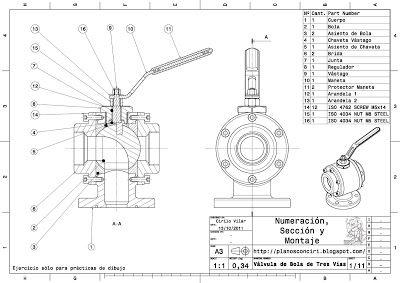 Planos Con Ciri Planos Mecanicos Diseno Mecanico Dibujo Tecnico Ejercicios