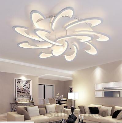 Modern Led White Acrylic Ceiling Lights For Living Room Bedroom Chandelier Lamp Eba Ceiling Design Living Room Living Room Design Modern Living Room Lighting