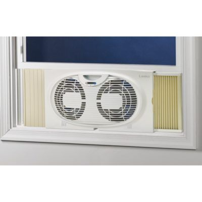 Lasko S Twin Window Fan Fits Most Windows From 22 To 32 Double