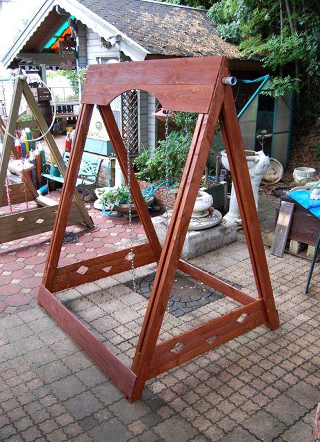 木製ブランコ 作り方 Diy 自作 ブランコ ブランコ Diy 作り方