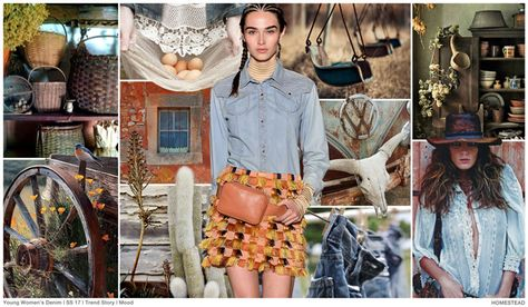 #FashionSnoops #denimtrends on #WeConnectFashion. SS17 Women's story: Ode to Wanderers