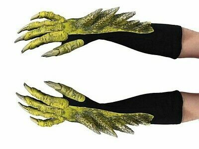 One Pair Halloween Werewolf Wolf Claws Cosplay Gloves Creepy Costume Party VR