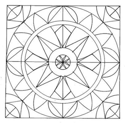 Free Printable Stained Glass Patterns Geometric Coloring Pages Abstract Coloring Pages Geometric Patterns Coloring