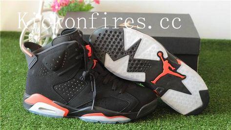 separation shoes 0484d 72cff 2018 Authentic Air Jordan 6 Retro Infrared