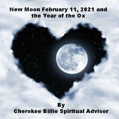 New Moon February 11 2021 And The Year Of The Ox In 2021 New Moon New Moon Rituals Moon