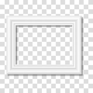 Animated Rectangular White Frame Black And White Pattern White Frame Transparent Background Png Clipart In 2021 Yellow Framed Art White Frame Frame