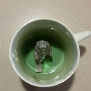 Dalmatian Coffee Mug Animal Surprise Cup Made To Order Etsy Corgi Mug Mugs Cup