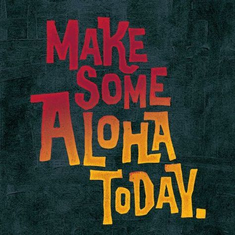 Happy #alohafriday! What are your weekend plans?