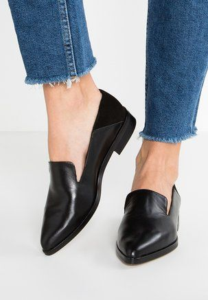 zign Slip-ons - black leather | Loafers