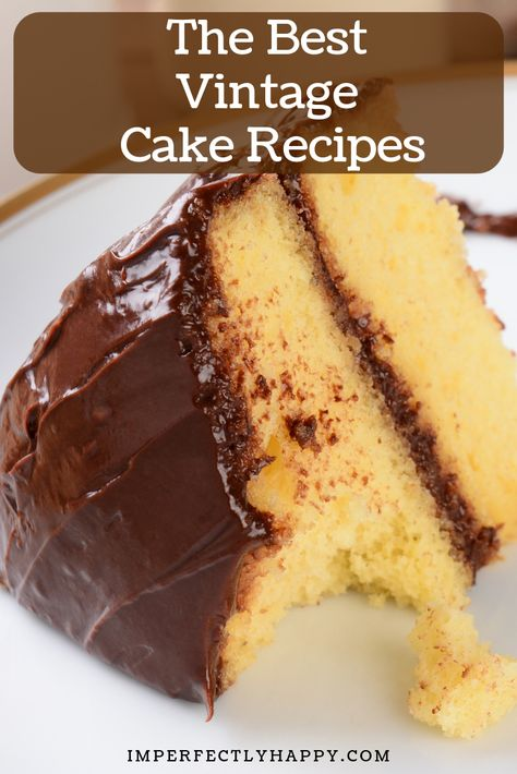 Grandma S Vintage Butter Cake Recipe Homemade Cake Recipes