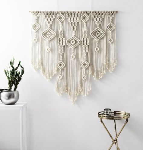 Large Wall Art Macrame Wall Hanging Over Bed Wall Art Over Bed