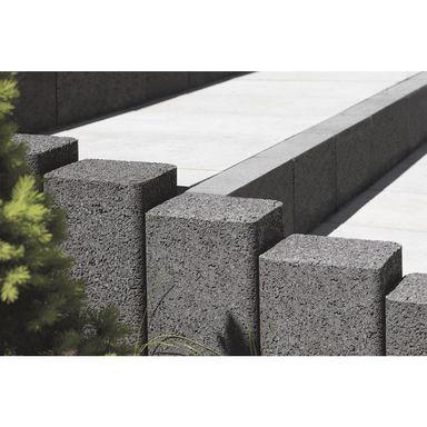 Palisada Betonowa Zen Grafitowa 30 Cm Polbruk Kostki Brukowe Plyty Chodnikowe W Atrakcyjnej Cenie W Sklepach Leroy Merlin