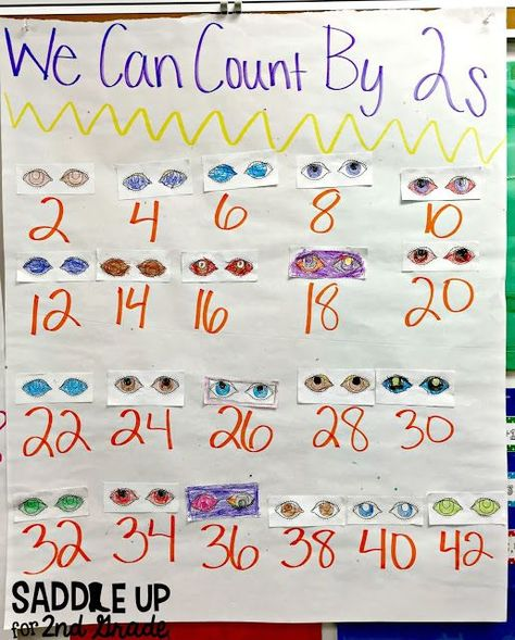 Hands On Skip Counting | TpT Math Lessons | Pinterest