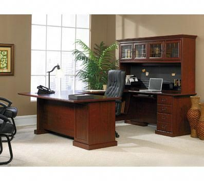 Sauder Heritage Hill Desk Classic Cherry Office Max