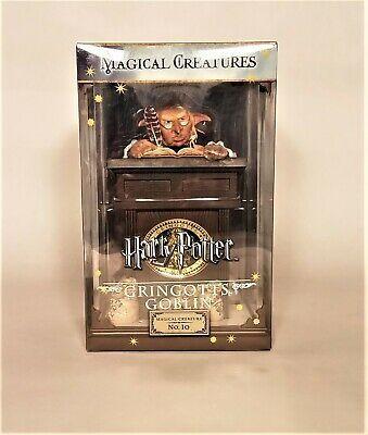 Harry Potter Magical Creatures No 10 Gringotts Goblin Collectors Figure
