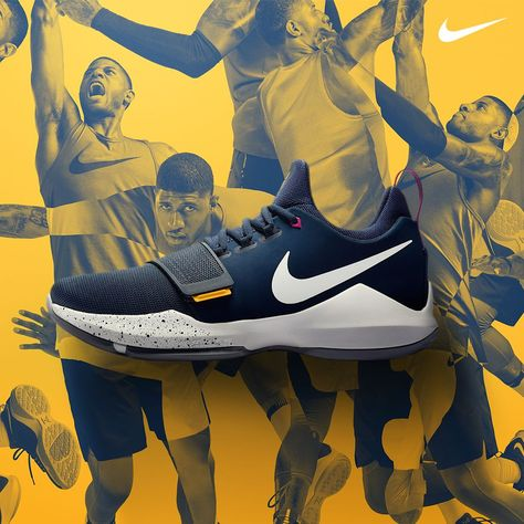 4f067e7d2fc Introducing Paul George s first signature shoe. The Nike PG 1  Ferocity   arrives on