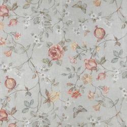 Voile Mit Struktur Hellgrau Rosa Blumen Stoff Und Stil Rosa Blumen Rosa