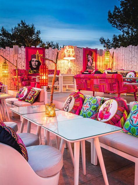 Patchwork Restaurant - Ibiza hip restaurant - Talamanca Bay | The Style Junkies