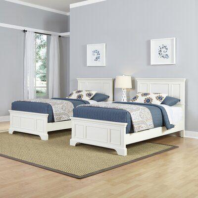 Birch Lane Heritage Barnard Panel 3 Piece Bedroom Set Wayfair Twin Beds Guest Room Twin Bedroom Furniture Sets Twin Bedroom Sets