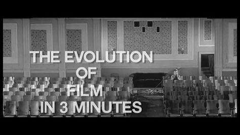 La evolución del #Cine en 3 minutos . The #Evolution of #Film in 3 Minutes