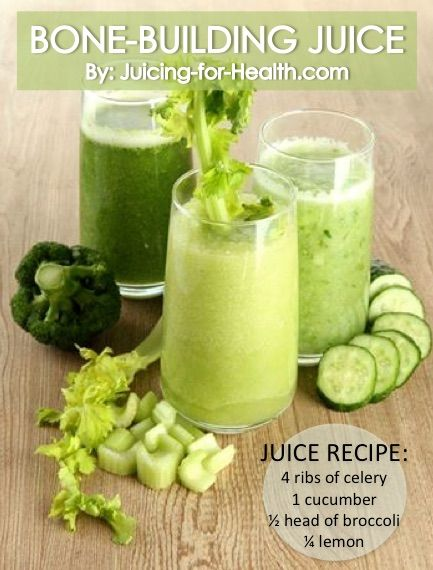 Build Strong Bones and Prevent Osteoporosis with This Nutritious Juice - Juicing For Health