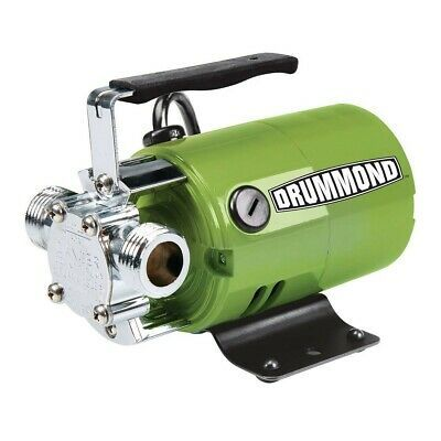 Ad Ebay Drummond 1 10 Hp Transfer Pump 320 Gph In 2020 With