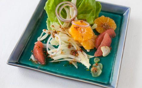 #Epicure Citrus Fennel Salad