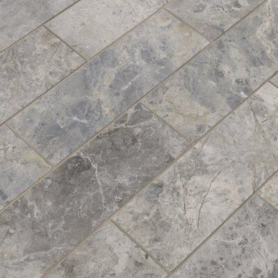 Msi 4 X 12 Marble Tile In Tundra Gray Marble Tile Calacatta Marble Tile Marble Tiles