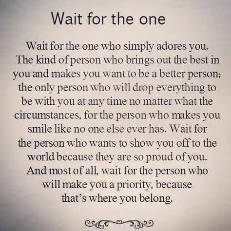 Yess!! Have patience and the right one will show up. When you least expect it. When you aren't even looking. When you thought you were good...that's when the best things happen. Save your best you for the one who deserves it!  #mytimeisvaluable #yup #hi #truth #quotes #life #lifequotes #true #reallife #realtalk #quotesaboutlife #motivation #motivate #theone