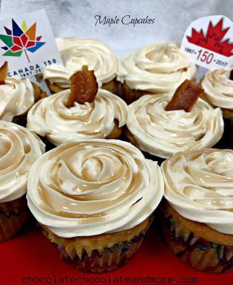 Maple Cupcakes Recipe Maple Cupcakes Maple Cake Chocolate