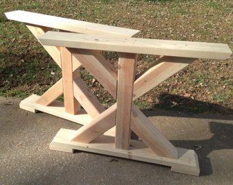 Farmhouse X Frame Table Legs Wood Table Legs Trestle Table Etsy Wood Table Legs Farmhouse Table Legs Trestle Table Legs