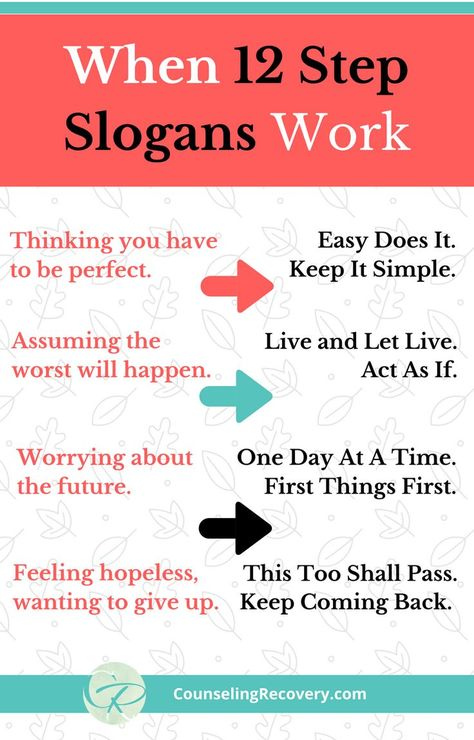 101 best 12 Step Slogans images on Pinterest