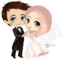 Muslim Wedding Wedding Clipart Cartoon Marry Png
