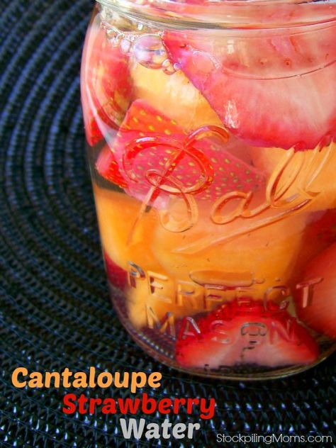 So refreshing and energizing!  A great way to get your water in each day!