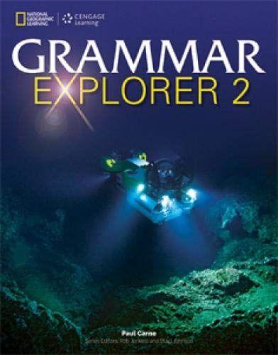 Pdf Download Ebook Grammar Explorer 2 By Unknown Cengage Learning Grammar English Grammar Book