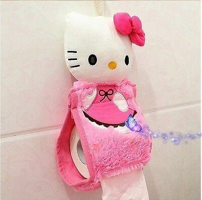 New Pink 4pcs Hello Kitty Toilet Seat Cover Cartoon Bathroom Lid Mat Set Ebay Hello Kitty Bathroom Hello Kitty Plush Hello Kitty House