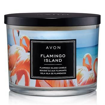 Avon 2020 Christmas Flamingo Special offer 2For$25.00   Discover AVON's Flamingo Island Candle