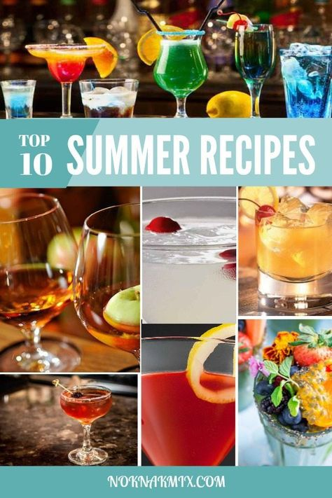 10 Best Cocktails To Make For Your Parties Cocktail Drinks