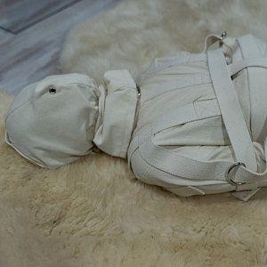 Heavy Duty Straitjacket - Central or Sides Crotch Strap / Restraining Bondage Straitjacket / BDSM / Institutional / Fetish / ABDL / Asylum