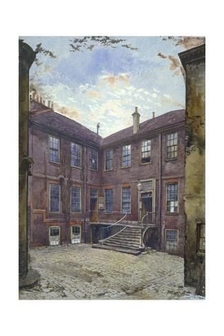 Giclee Print View Of An Old House In Great Winchester Street City Of London 1880 By John Crowther 1 In 2020 Victorian House London London City Old Victorian Homes
