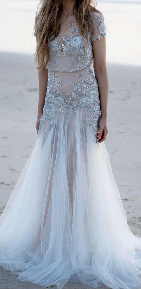 Beautiful Bridal Beach Wear