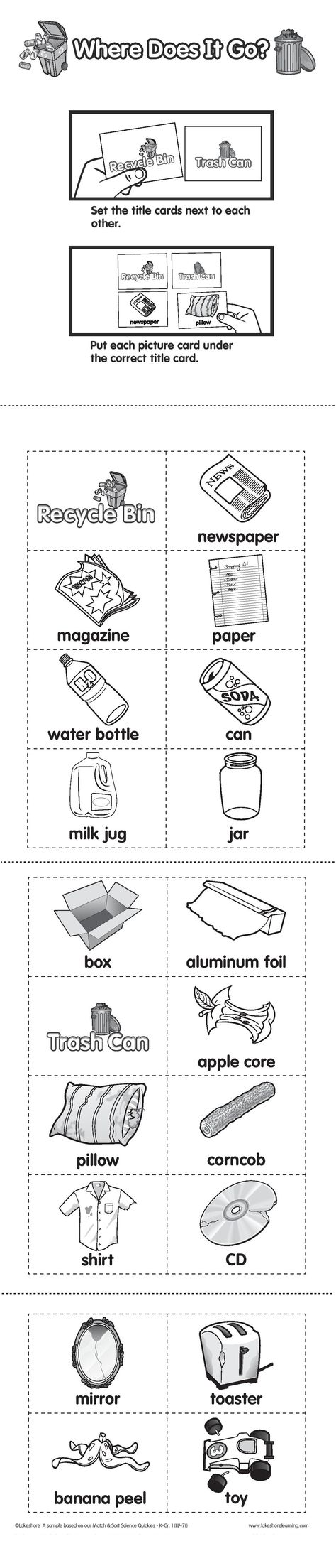Reduce Reuse Recycle Worksheets Saferbrowser Yahoo Image Search