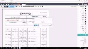 مصمم نماذج الفواتير جزء 1 التعديل على نموذج فاتورة Youtube Shopping Screenshots