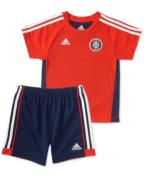6b113fe43d774 Baby Boys 2-Pc. Hat Trick T-Shirt & Shorts Set
