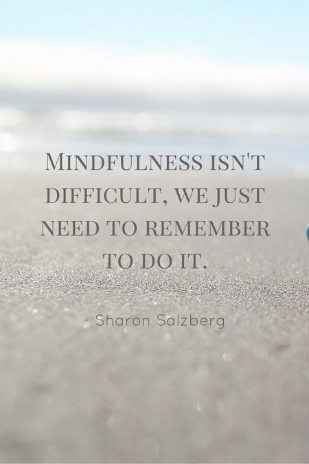 Yes, this. :: Five small (but powerful) acts ofmindfulness