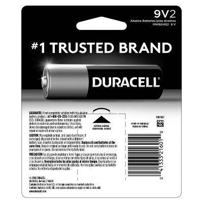 Duracell Coppertop 9v Batteries 2pk Alkaline Battery Alkaline Battery Duracell Duracell Batteries