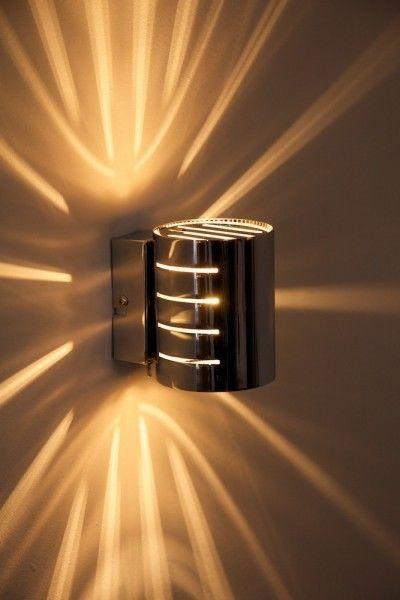 Wandleuchte Design Wandstrahler Chrom Flurlampe Leuchte Wandlampe Lampe Schalter Ebay Wandleuchte Wandlampe Lampe
