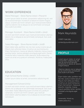 160 Free Resume Templates Instant Download Freesumes Professional Cv Template Free Resume Template Examples Cv Template Free