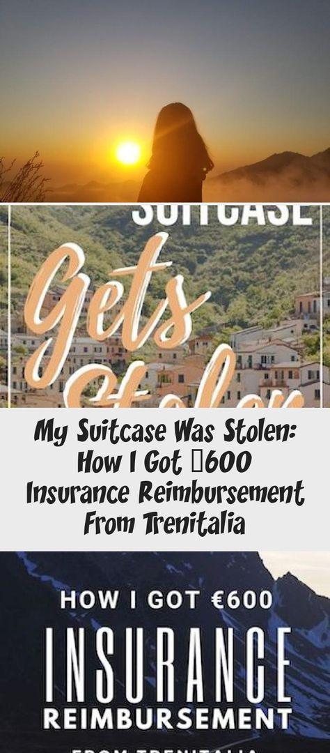 My Suitcase Was Stolen: How I Got €600 Insurance Reimbursement From Trenitalia   Em Around the World #reisenArt #Flugzeugreisen #reisenKarte #reisenAbenteuer #reisenKinder
